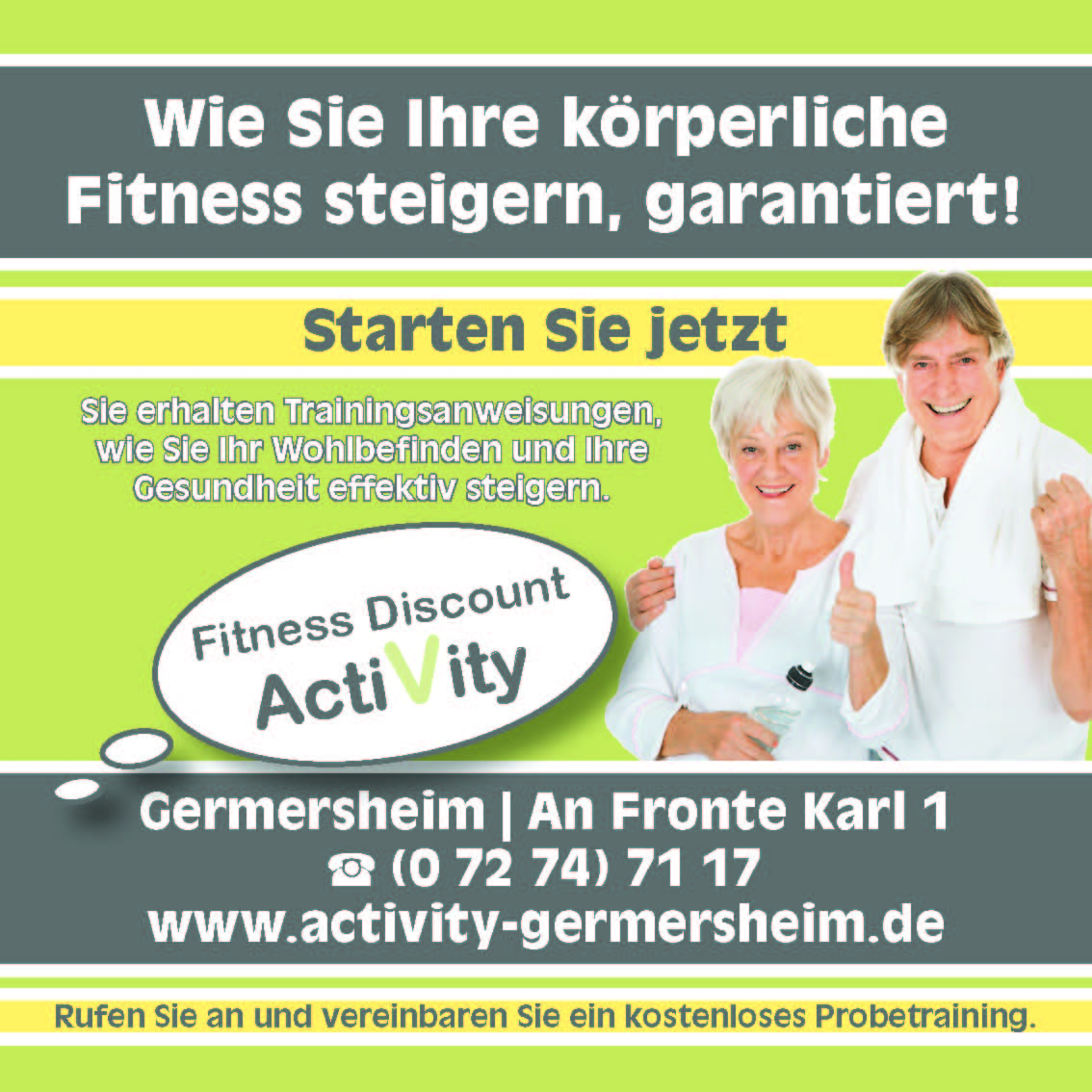 Fitness Discount ActiVity, Germersheim